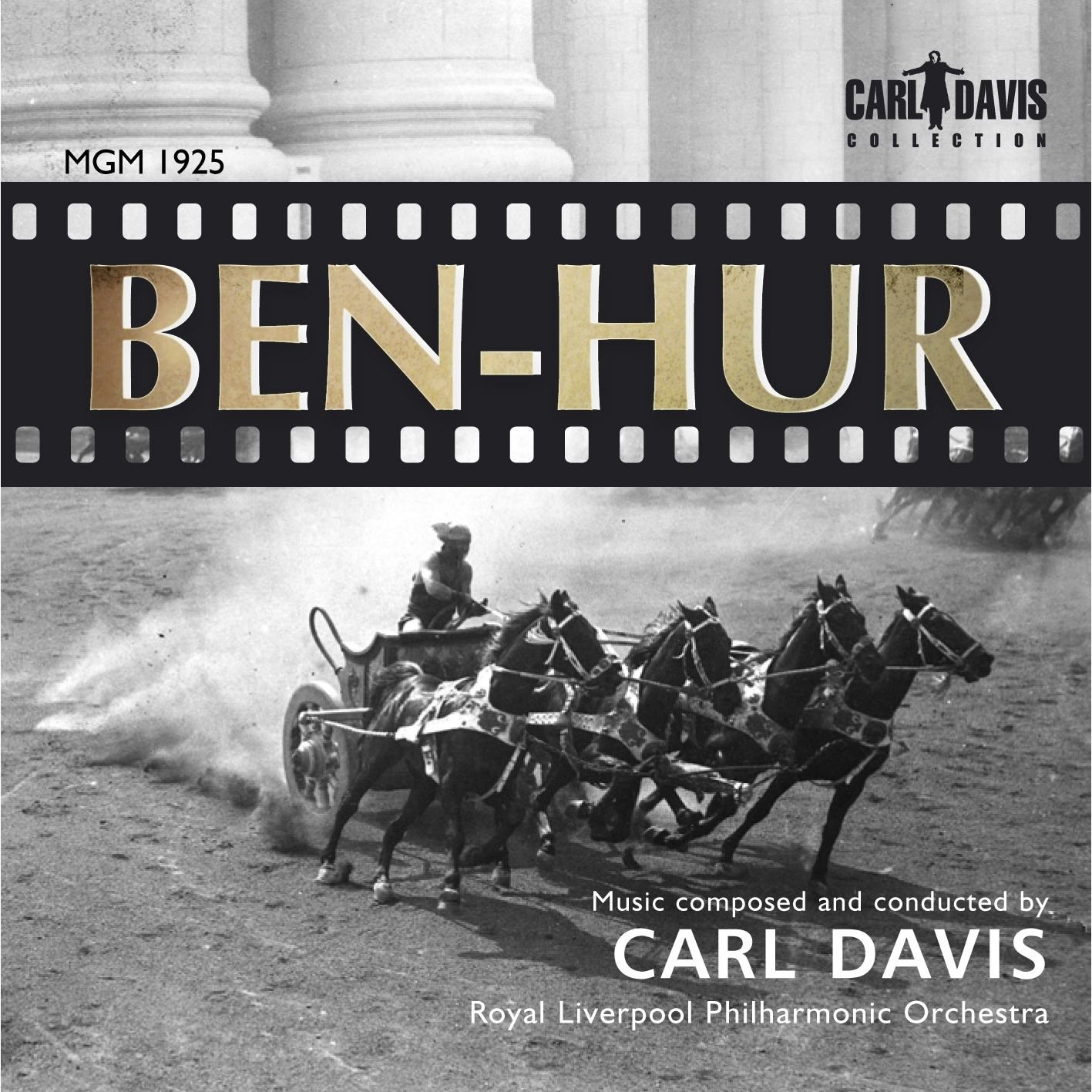 cd review benhur 1925 film score click track