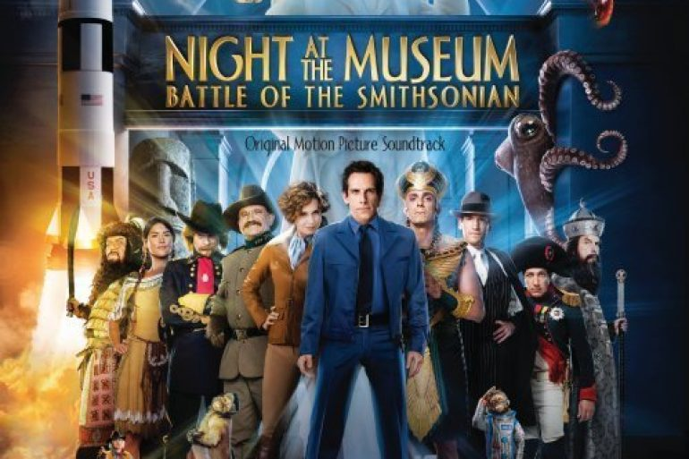 Night at the Museum: Battle of the Smithsonian CD