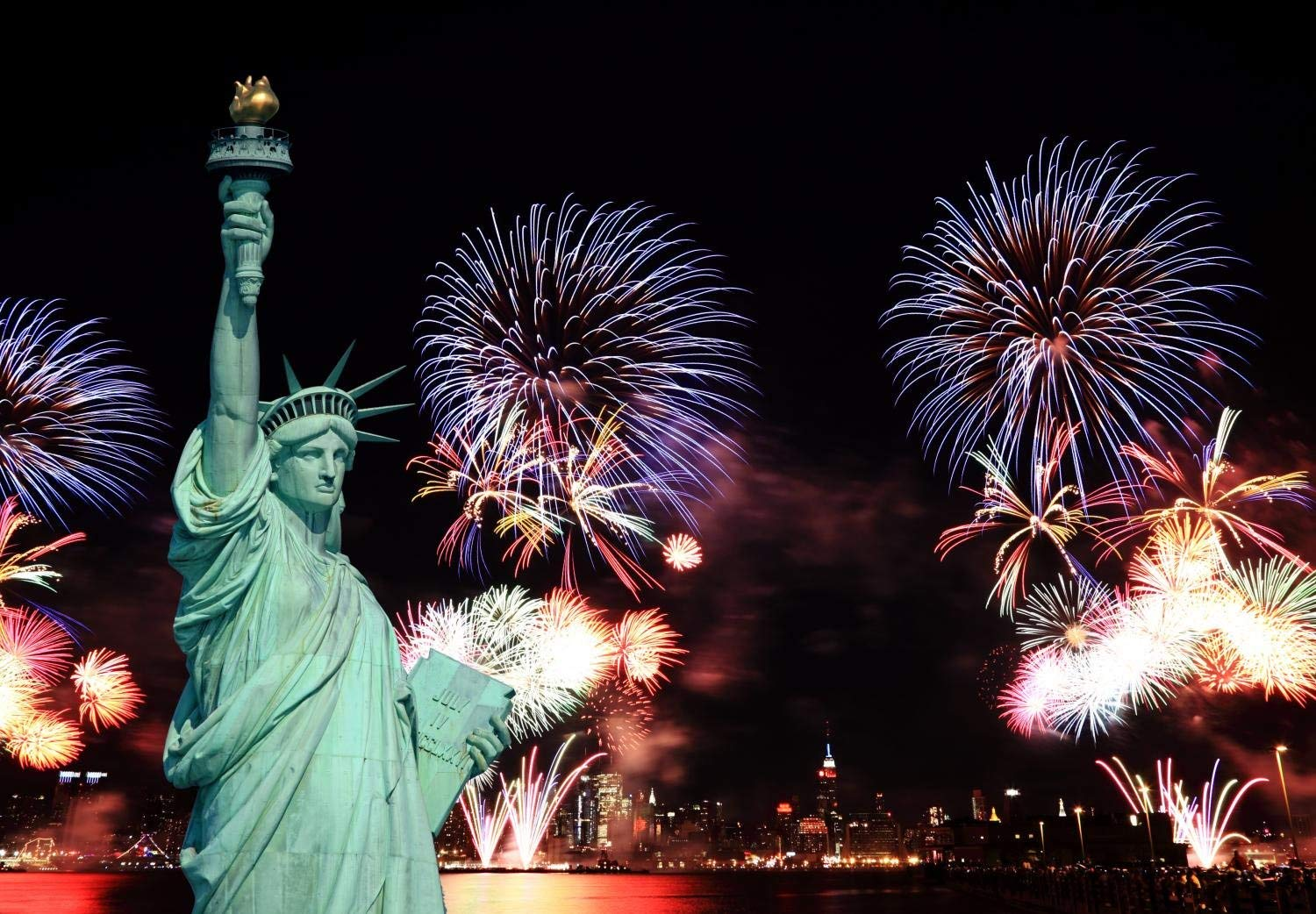 July 4th Statue of Liberty