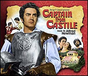 Captain From Castile soundtrack