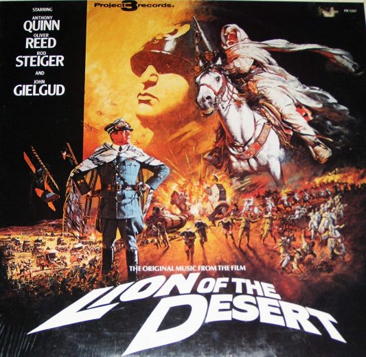 Lion of the Desert soundtrack