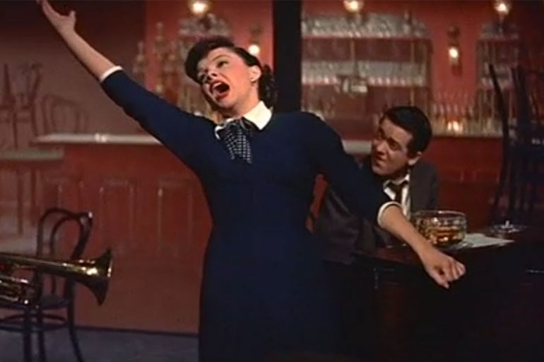 Judy Garland in A Star Is Born